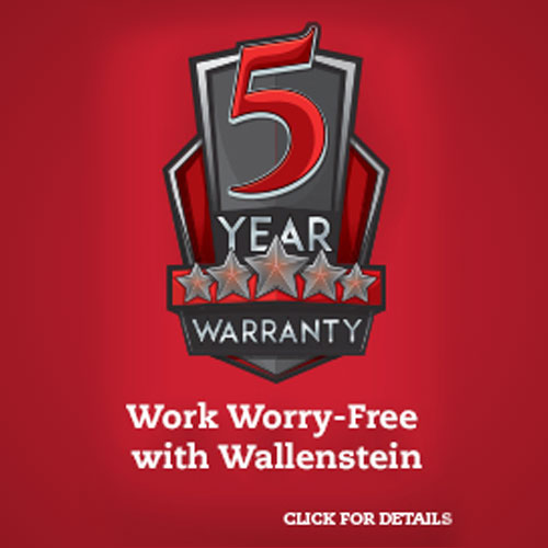 Wallenstein 5 Yr. Warranty