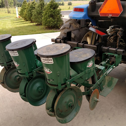 Cole 3-Row 12MX Garden Seeder