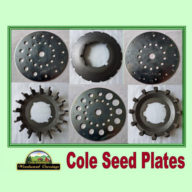 Cole Seed Plates