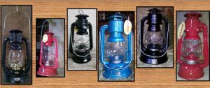 Dietz Oil Lanterns: Jupiter, #8, #76, Air Pilot, Blizzard & D-Lite Lanterns