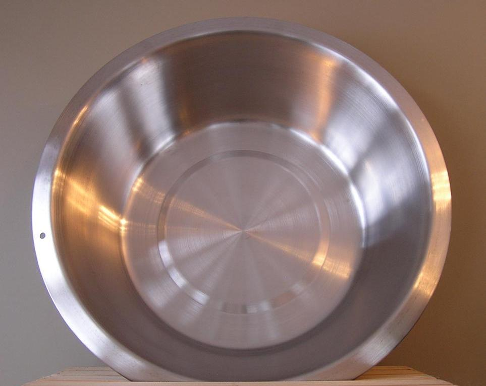 8.5 Qt. Stainless Steel Flat Bottom Dish Pan