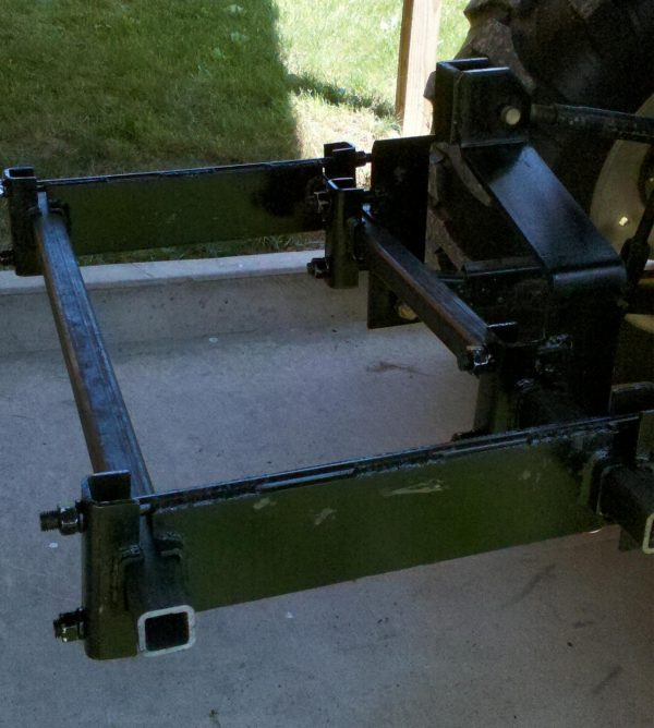 3 Pt. Hitch w/ Toolbars and Spacer Bars 4