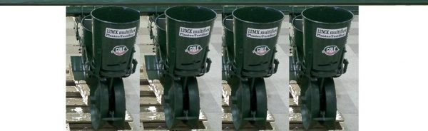 012-0140 12MX 4 Row Cole Planter for Large Seed