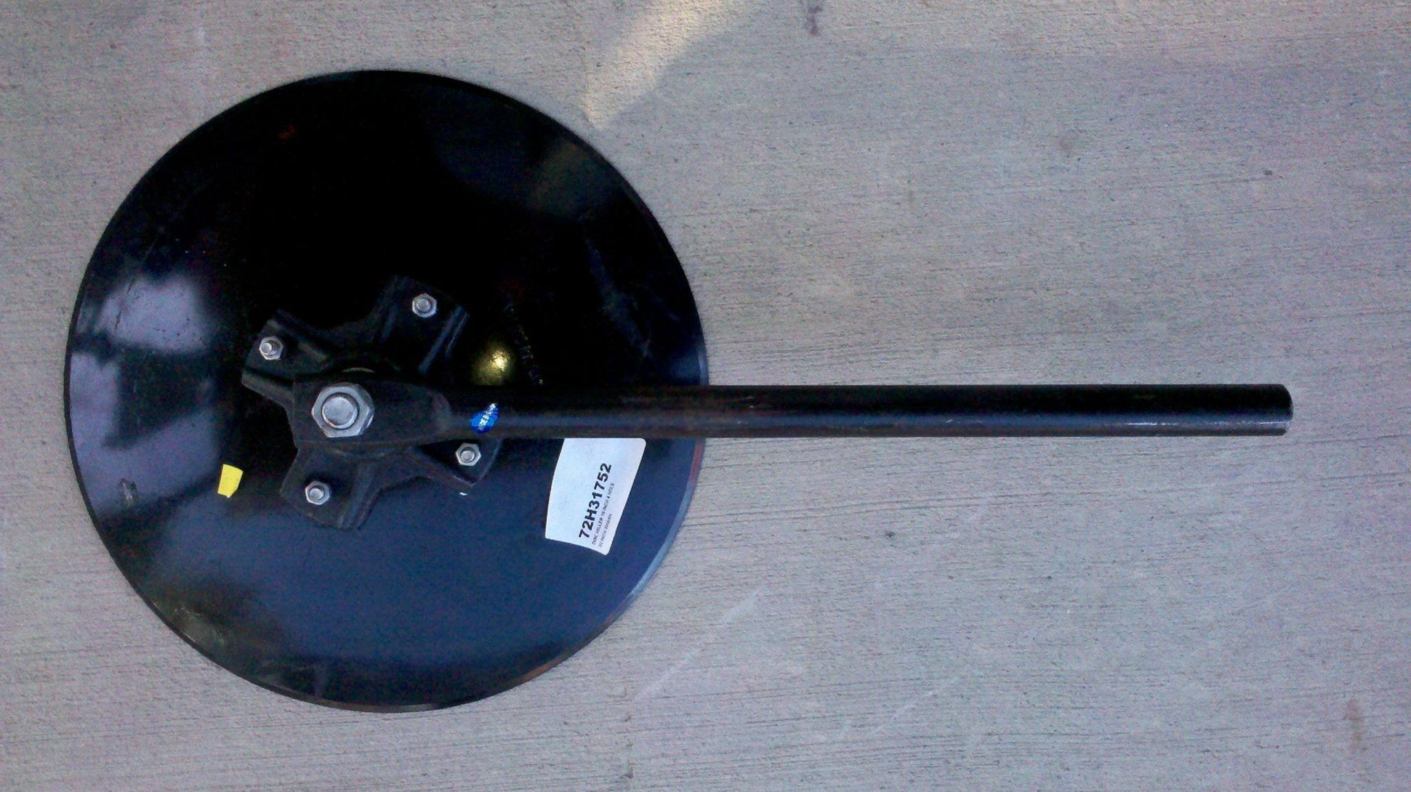 16 Inch Disc Hiller-  4 Hole with 22 Inch Shank for Furrowers & Hillers