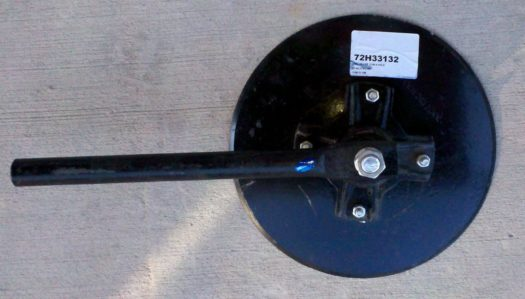 "Build Your Own Disc Hiller & Furrower! 12"" Disc Hiller-  4 Hole with 16"" Shank for Furrowers & Hills"