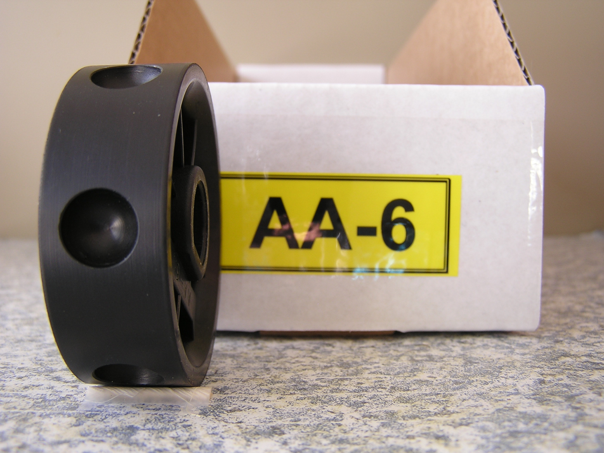 AA-6 Roller for the Jang Seeder, 12 mm w/ 6 slots on the Roller