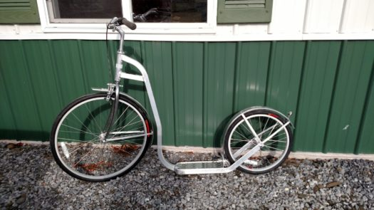 Lightweight Aluminum Amish Scooter w/ Bicycle Tires