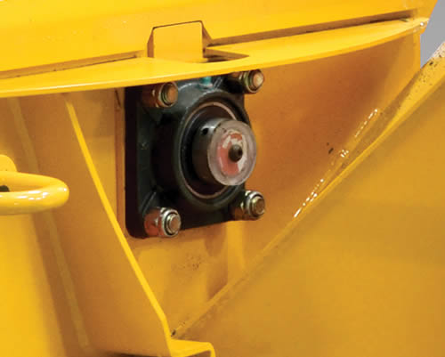 Wallenstein Woodchipper Bearing Protection