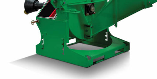 Wallenstein PTO Woodchipper with Ski Base
