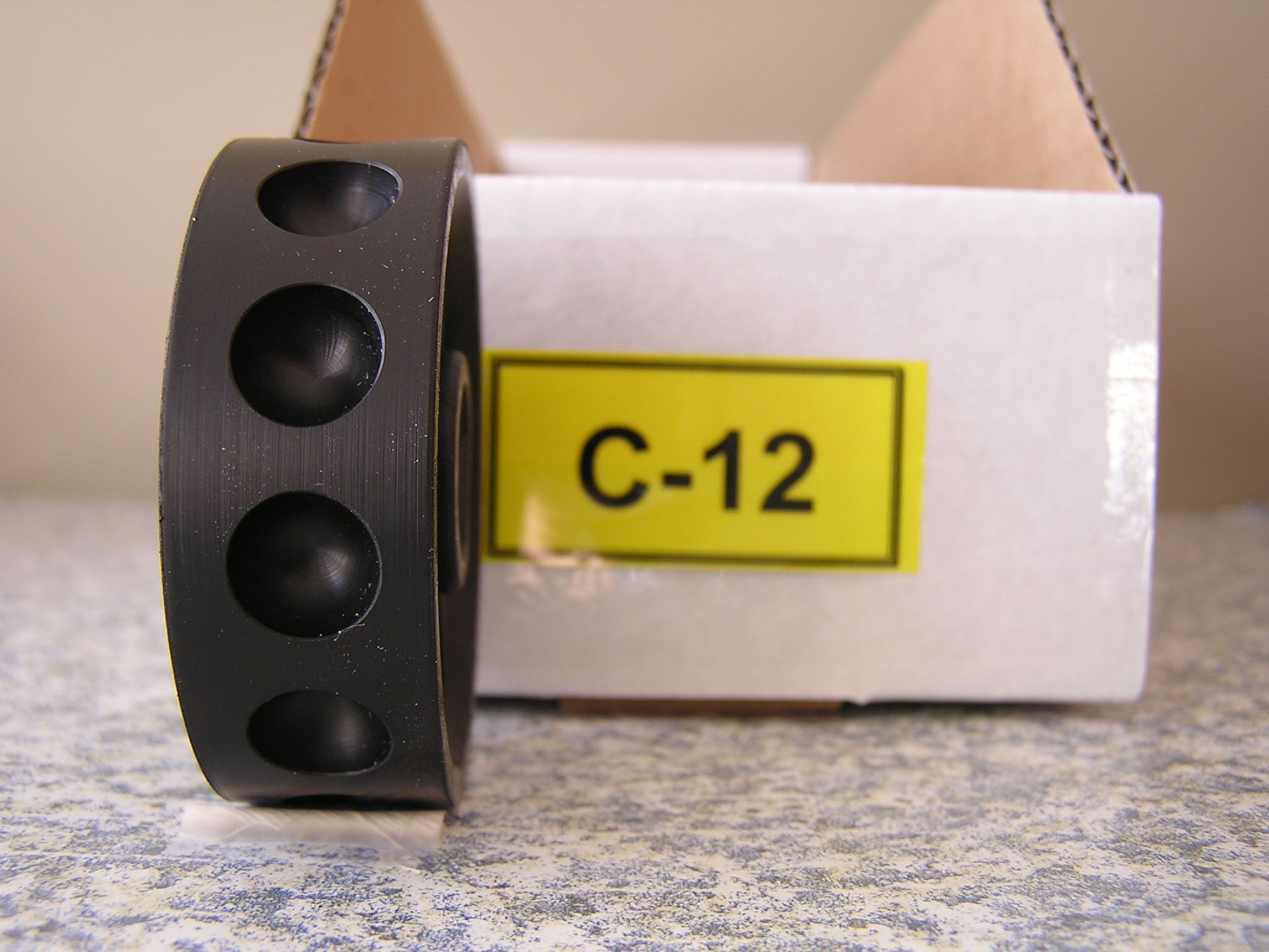 C-12 Roller for the Jang Seeder, 11 mm Slot, 12 Slots on the Roller