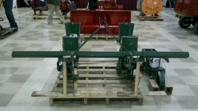 Cole 2-Row 12MX Multiflex Planter for Large Seeds (6)