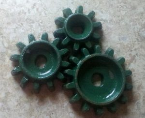 Cole Distance Gears for 12 MX MultiFlex 3 Pt. Planter to Achieve Correct Seed Spacings