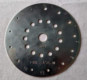 Cole Planet Junior Metal Seed Plate No. 1
