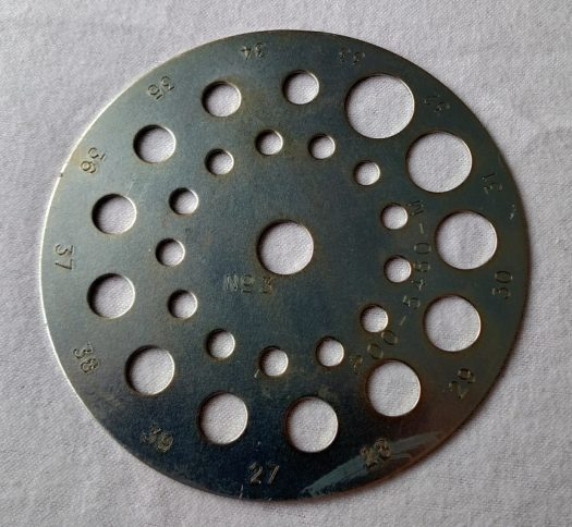 Cole Planet Junior Metal Seed Plate No. 3