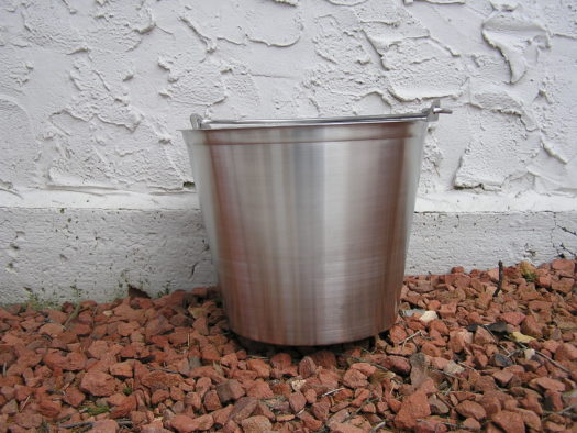 Seamless Stainless Steel Pail