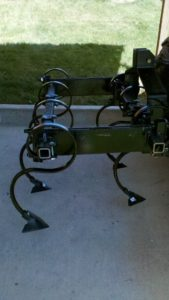 Double Row Cultivator Bundle S-Tines and Sweeps