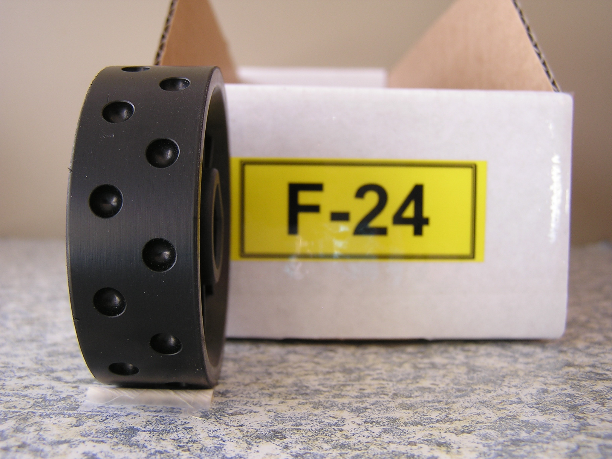 F-24 Roller for Jang Seeder, 5 mm Slot, 24 Slots on the Roller