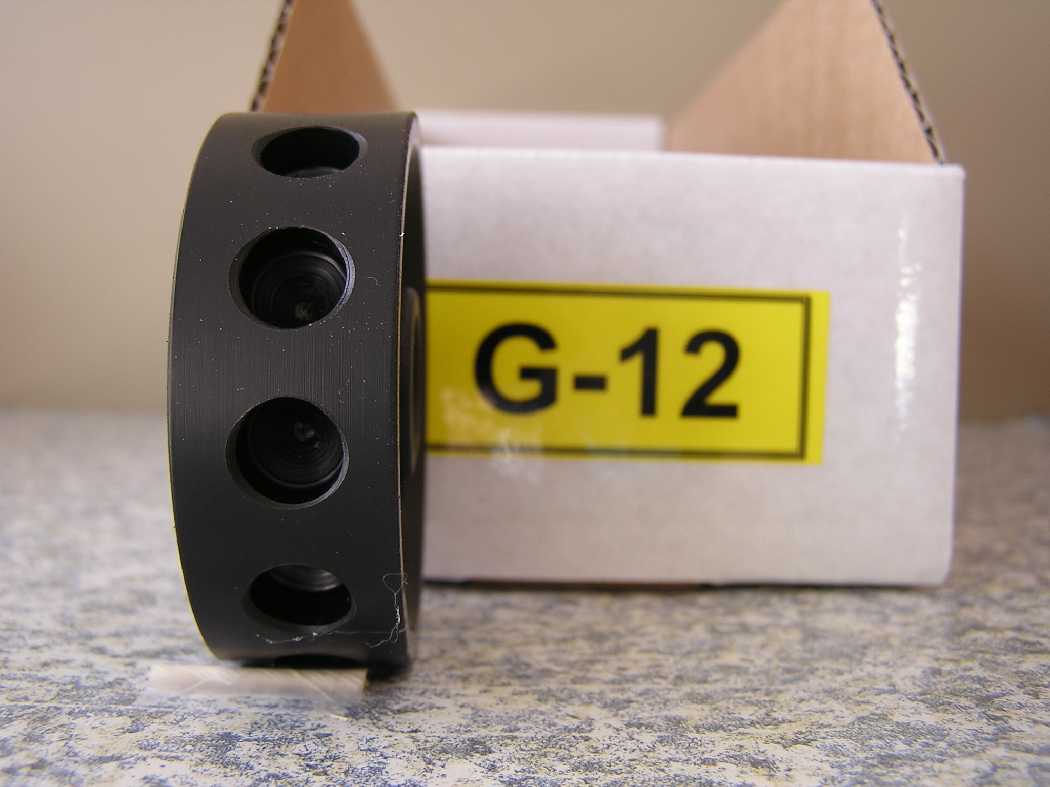 G-12 Roller for the Jang Seeder, 9 mm Slot, 12 Slots on the Roller
