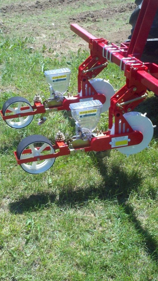 JPH-2 Jang Seeder with 3 Pt. Hitch and Toolbar for Tractor Mounting