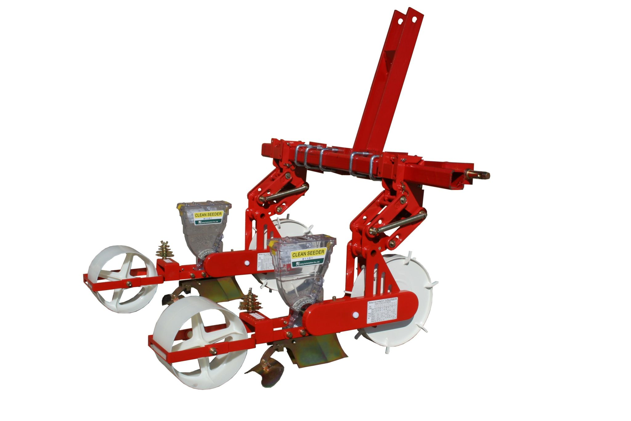 JPH-2 Jang Seeder ~3 Pt. Hitch Tractor Mount Seeder that Singulates Seeds