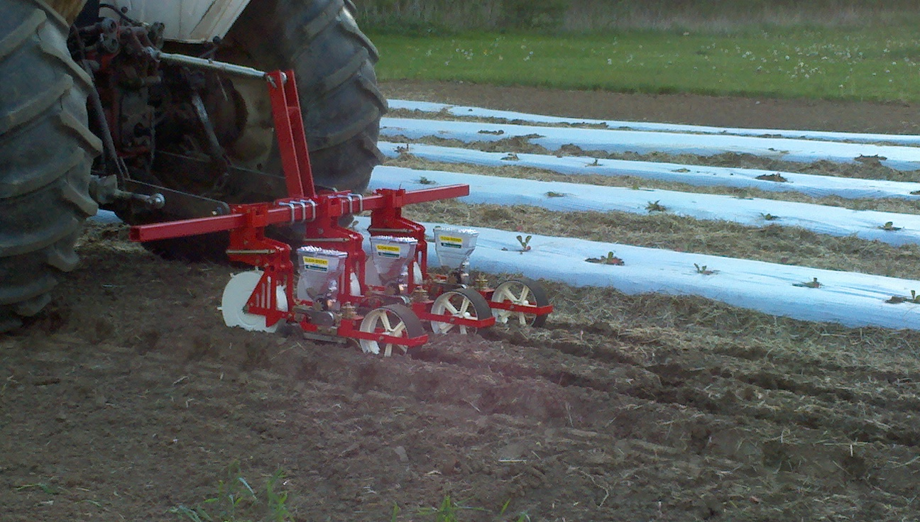 JPH-3 Jang Seeder ~3 Pt. Hitch Tractor Mount Seeder that Singulates Seeds