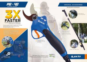 Jacto Battery Operated Pruner Brochure