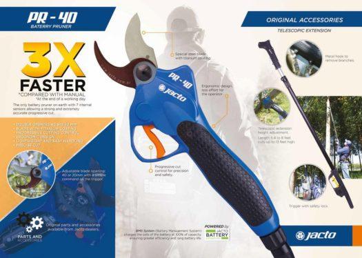 Jacto Battery Operated Pruner Brochure