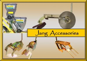 Jang Accessories for Precision Seeding, using the JP-1, JP-3, or JP-6 Jang Seeders