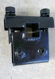 "Flat Shank Clamp for a 1 x 3"" Shank"