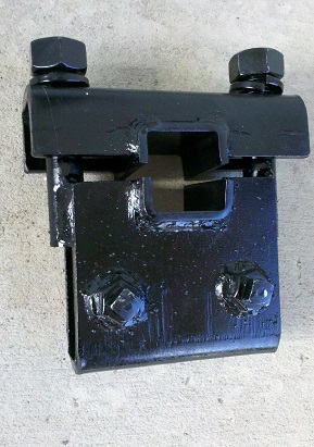 Flat Shank Clamp for a 1 x 3  Shank to Attach to a 2 x 2 Toolbar