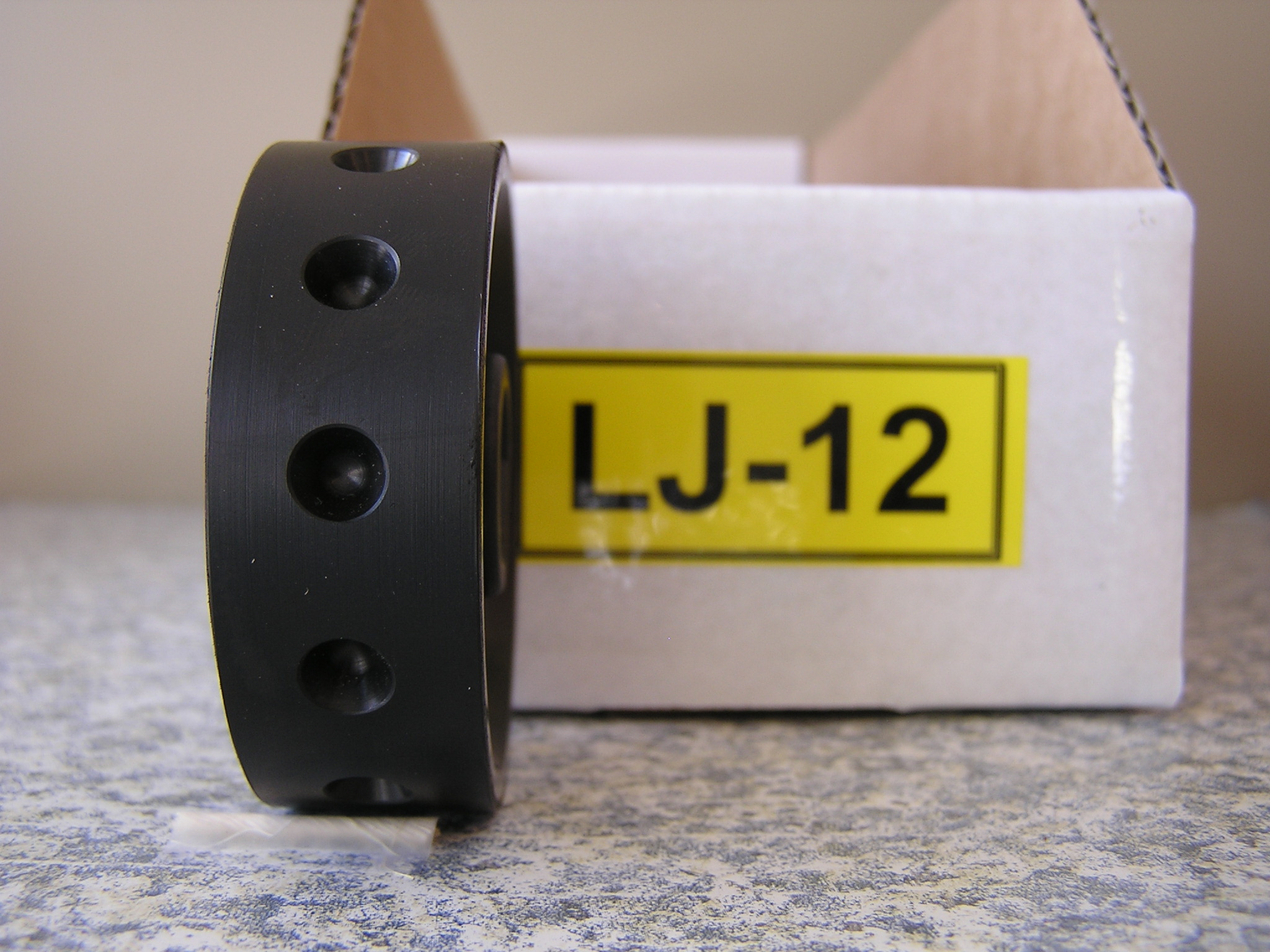 LJ-12 Roller for Jang Seeder, 7.5 mm, Deep Slot, 12 Slots on Roller
