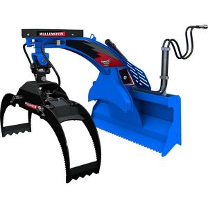 Wallenstein LXG420S Log Grapple for Mounting on Skid Loaders