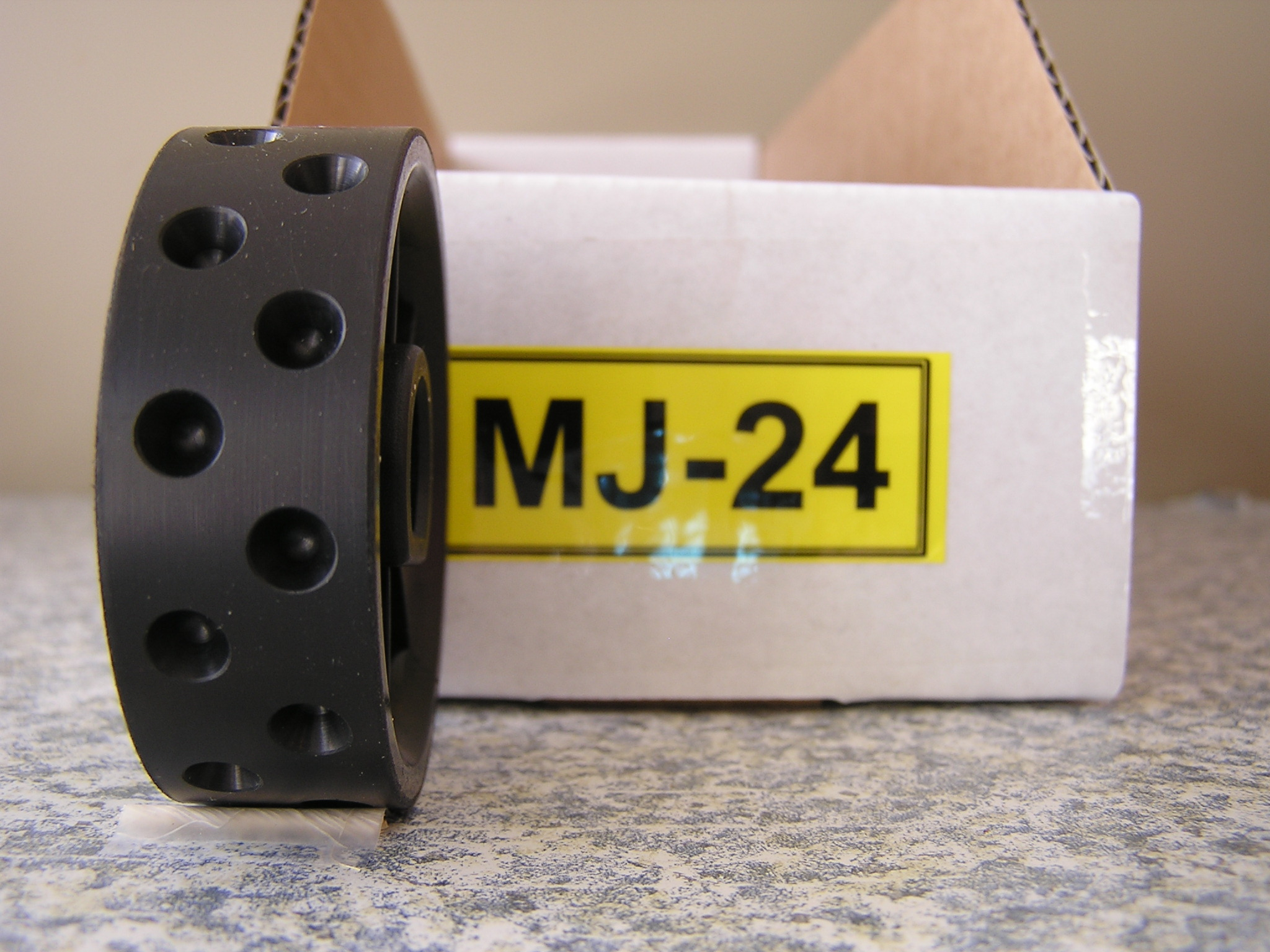 MJ-24 Roller for Jang Seeder, 6 mm, Deeper Slot, 24 Slots in the Roller