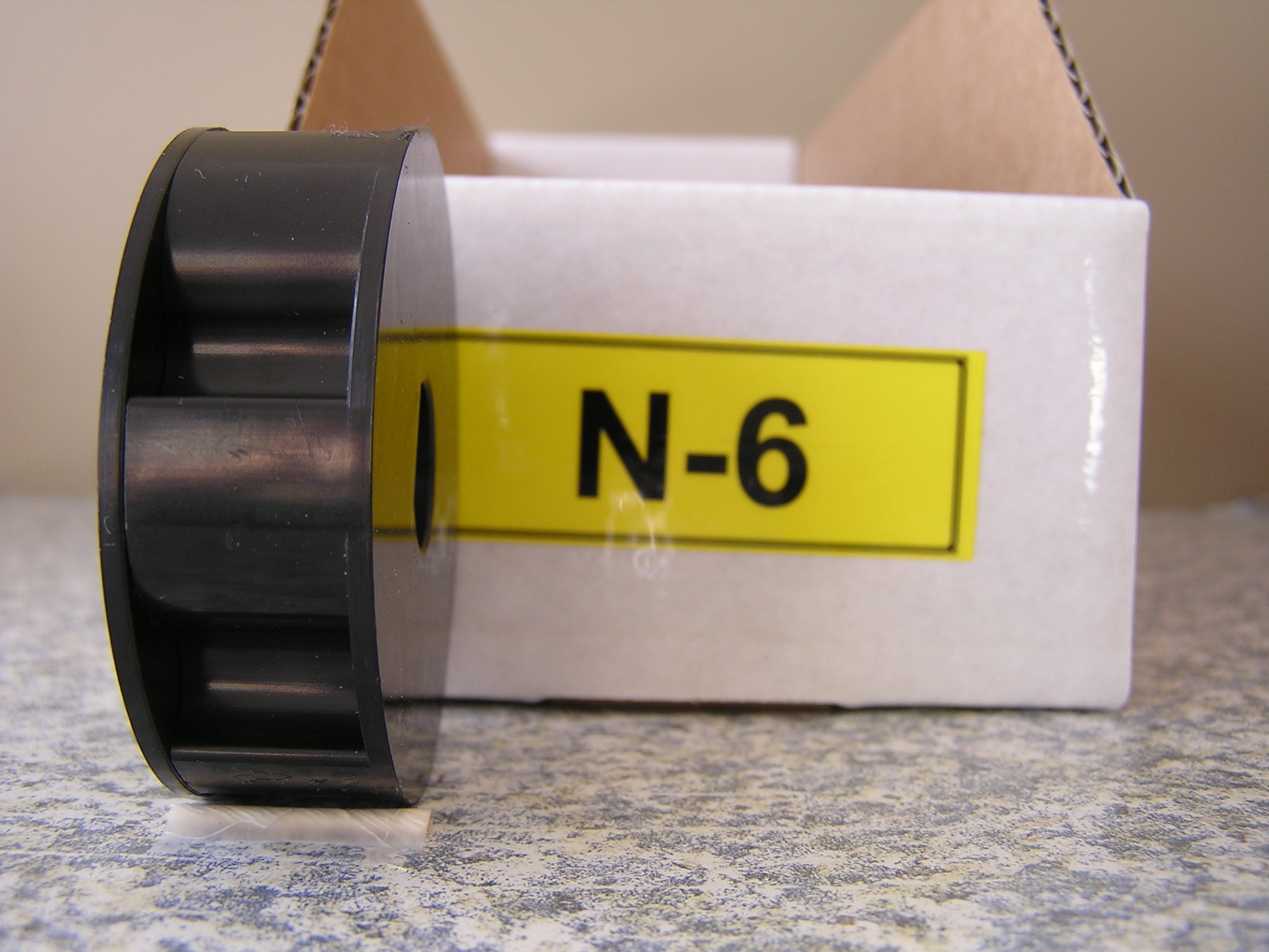 N-6 Roller for Jang Seeder, Rectangular Slot, 6 Slots in the Roller