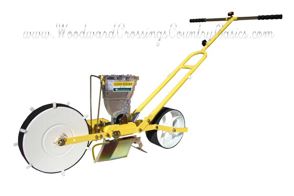 Jp 1 Jang Seeder A Walk Behind Push Hand Seeder That Singulates Seeds
