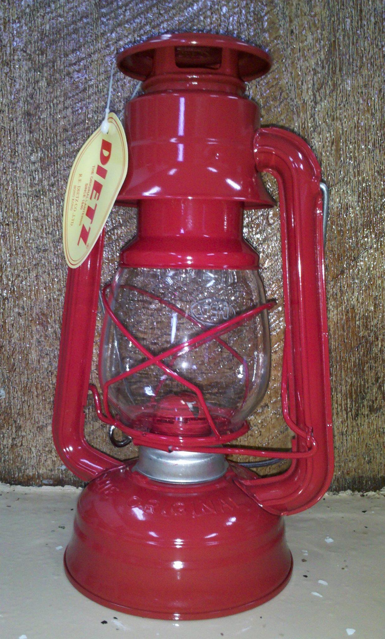 #76 Dietz Lantern Original Style Red Lantern