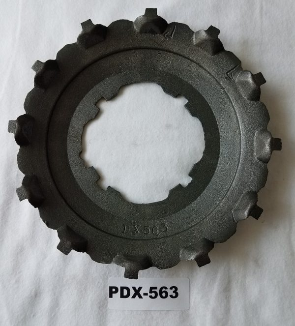 PDX-563 Medium Large Flat Corn Seed Plate - Cole 12 MX MultiFlex