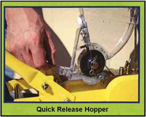 Quick Release Hopper for Jang JP Series