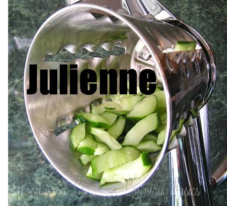 SIMPLE-V-KUT Master Salad Cutter Julienne Cone
