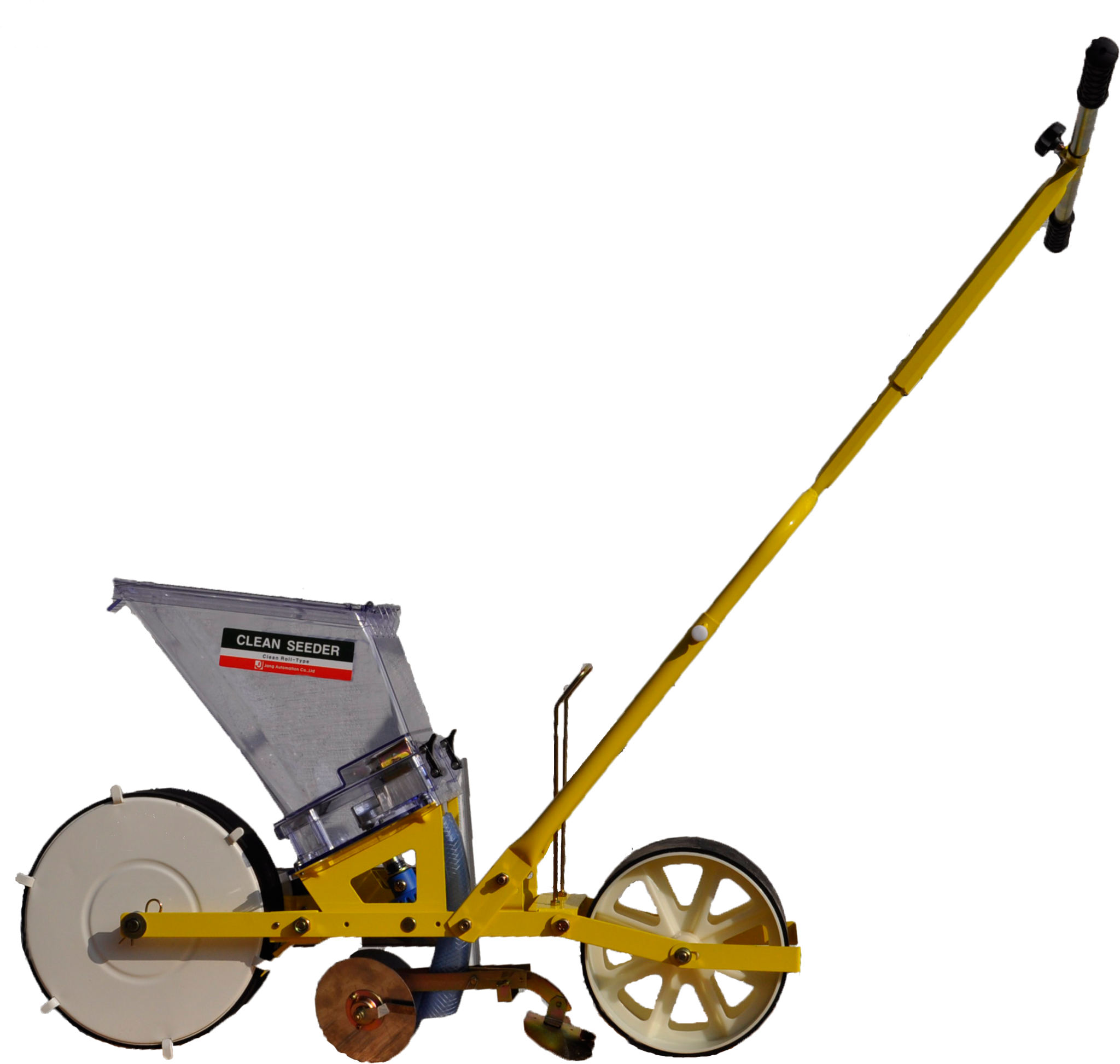 Td 1 Jang Push Style Seeder For Planting Large Seeds Like Beans And Corn
