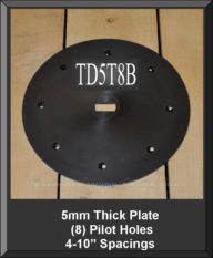 TD5T8B 5MM Thick Plate
