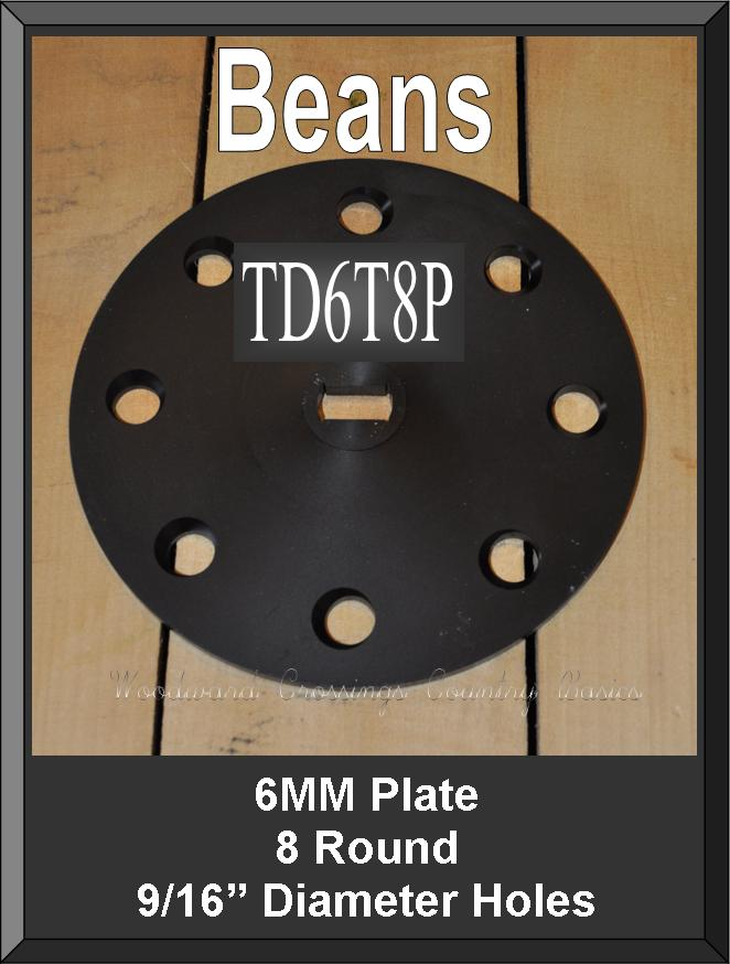 TD6T8P 6MM Thick Plate