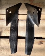 Left & Right Tender Plant Hoe Knives - Knives are to be used with a Beet (Banana) Knife Holder Shank