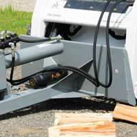 Wallenstein WX410 Skidsteer Mount for Logsplitter