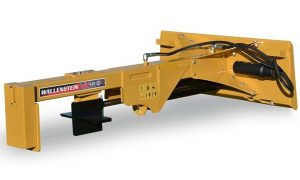 Wallenstein WX410 Logsplitter Pictured w/ 4-Way Wedge