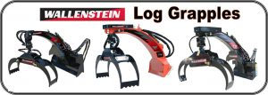 Wallenstein Timber Talon Log Grapples for Skidsteers and Tractor