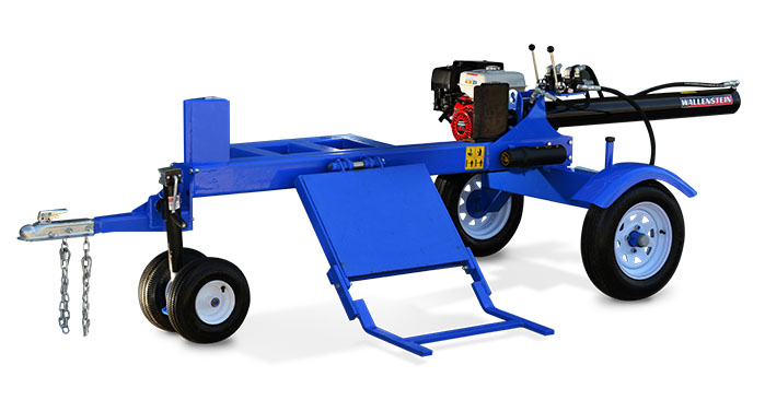 WX950 Wallenstein Trailer Log Splitter with GX270 Honda Engine  and Hydraulic Log Lift Cradle!
