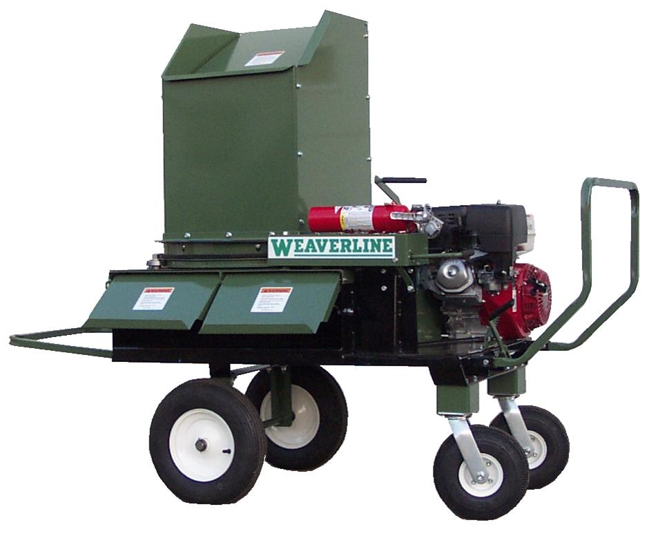Model KB1255 Weaverline Bale Chopper w/13 HP Engine Equipped to Handle Straw, Hay, and Newspapers