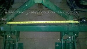 Weldments on B46-679 Cole CAT I 3 Point Hitch for 12 MX Multiflex Planter (2)