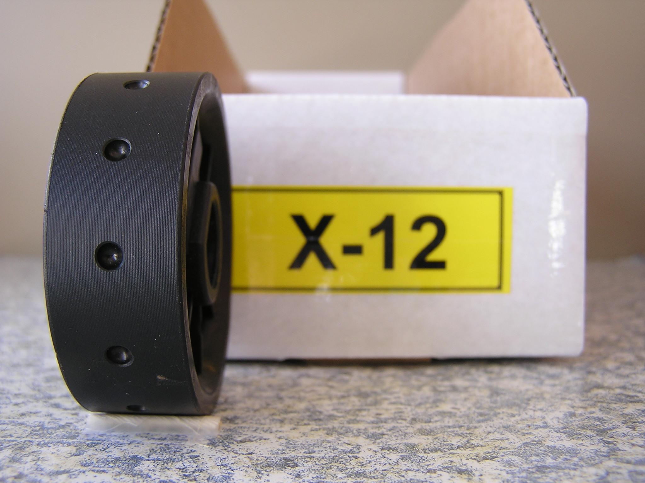 X-12 Roller for Jang Seeder, 4 mm Slot, 12 Slots on the Roller